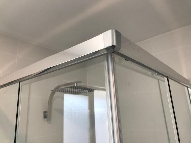 Semi Frameless Showerscreen